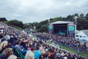 Scarborough Open Air theatre.